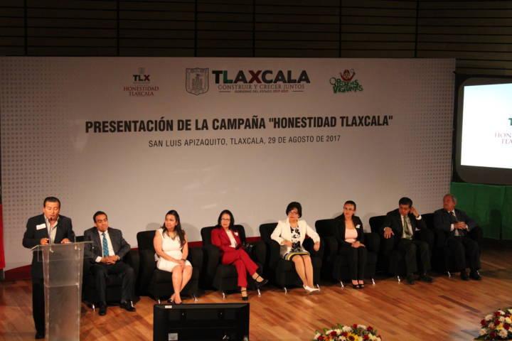"""Se presenta la campaña """"Honestidad Tlaxcala"""""""
