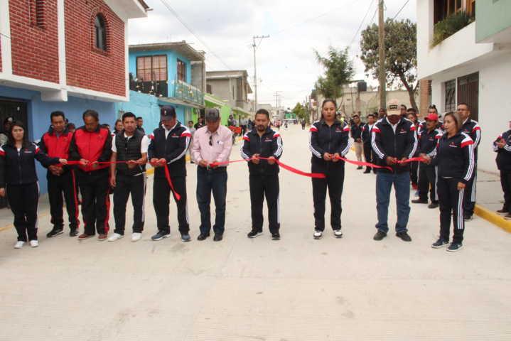 Con casi 4mdp modernizamos la calle Obregón con 3,844 m2 de pavimento: MLG