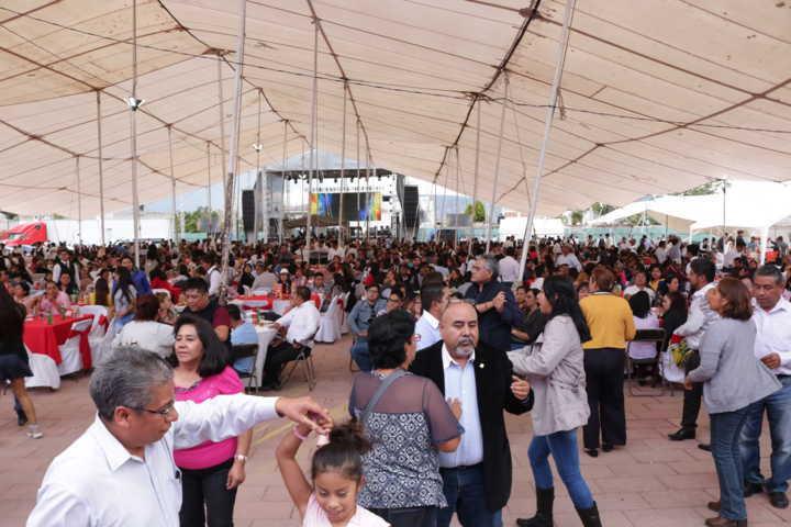 Más de 2 mil comensales disfrutaron el Festival de las Paellas en Chiautempan