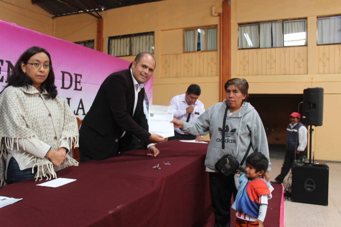 Reintegran más de 300 mil pesos a beneficiarios de fortalecimiento al campo
