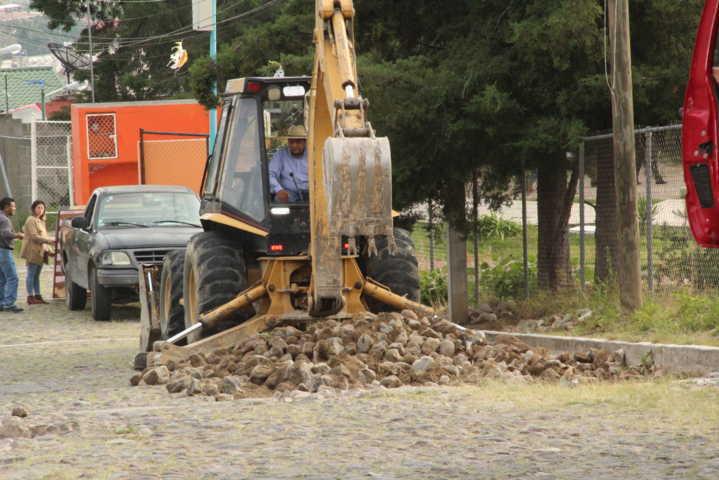 En la avenida México realizaremos dos obras que beneficiarán a 3 escuelas: alcalde