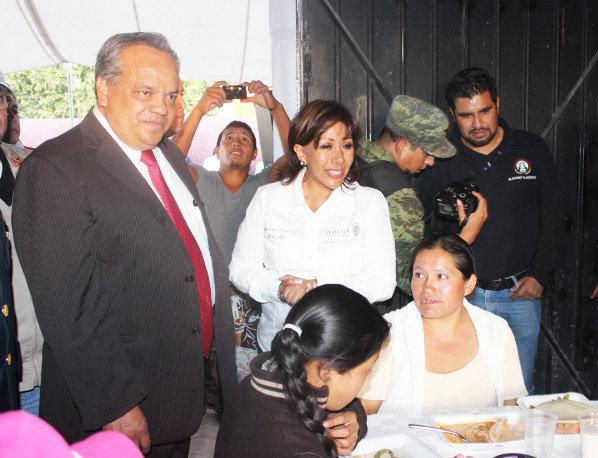 Ayuntamiento de Huamantla y SEDESOL Tlaxcala  trabajan de manera conjunta  para beneficiar a los que menos tienen