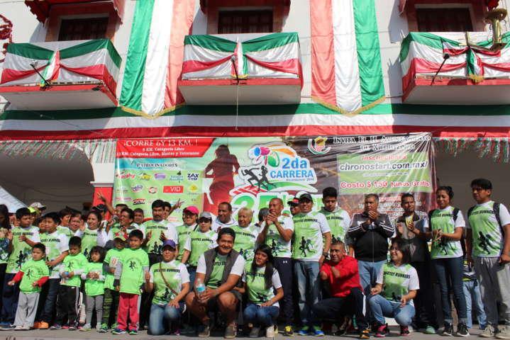 Todo un éxito la 2da carrera atlética organizada por el Ayuntamiento