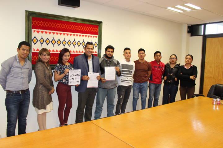 Acuerda rector de la UTT con estudiantes fortalecer comunicación interna