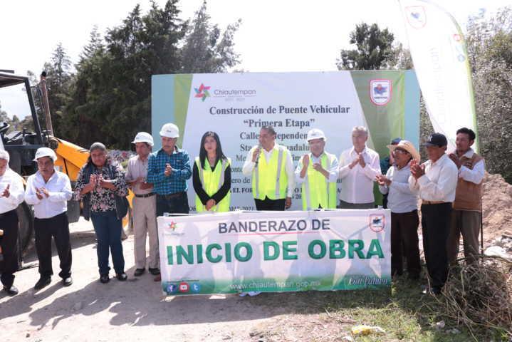 Este nuevo puente impulsara el desarrollo a varias comunidades: alcalde