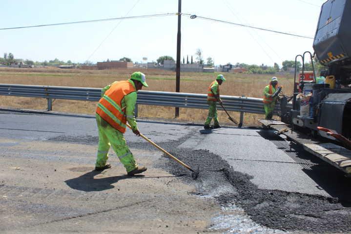 Gobierno de Tepetitla pide tomar precauciones por rehabilitación de carretera