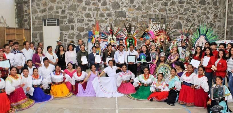 El ballet Miskilla de Ecuador Y Tierra Joven de Tlaxcala llegaron a Yauhquemehcan