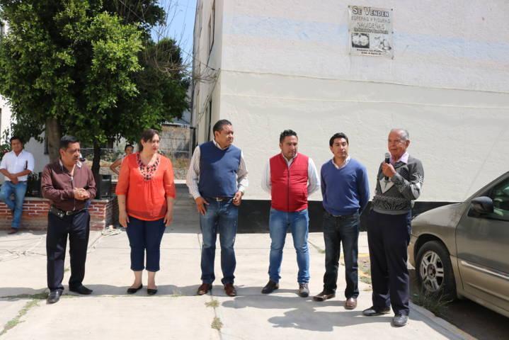 Inaugura Domínguez Rugerio obra de drenaje pluvial y desazolve en la Unidad Santa Cruz