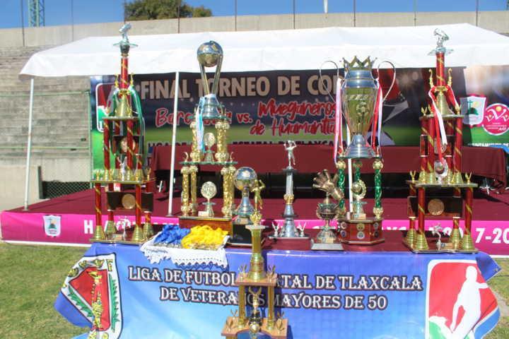 Santa Cruz Tlaxcala anfitrión del torneo de Copa 2019 de la Liga 50 Y Más