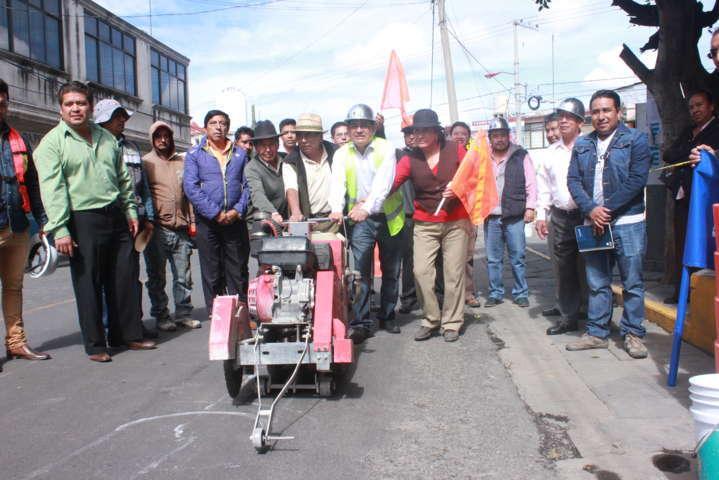 Valencia Muñoz puso en marcha acciones de mejoramiento de imagen urbana