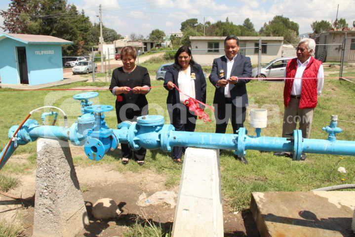 Alcalde entrega obra de infraestructura hidráulica en López Portillo