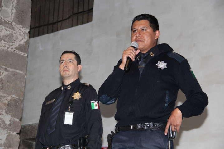 """Gendarmería entra a Zacatelco con el curso de """"Proximidad Social"""""""