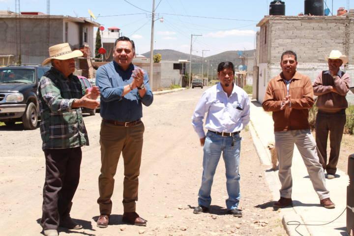 Alcalde anuncia diversas acciones que mejoraran la calidad de vida de los pobladores
