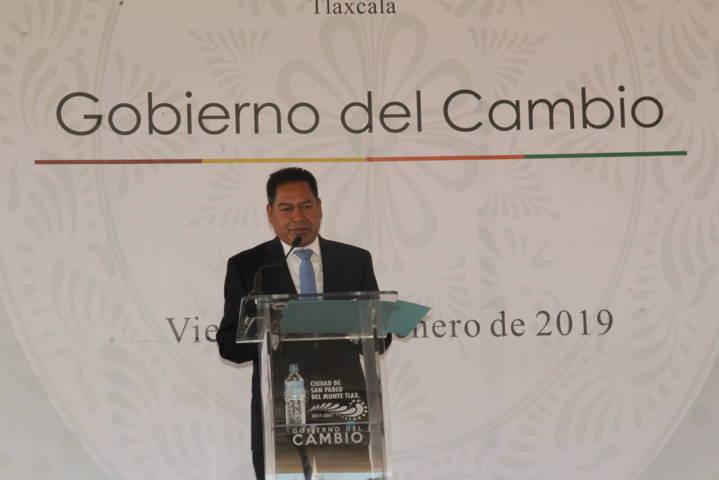 Estamos trabajando para la trasformación del municipio: Cano Coyotl