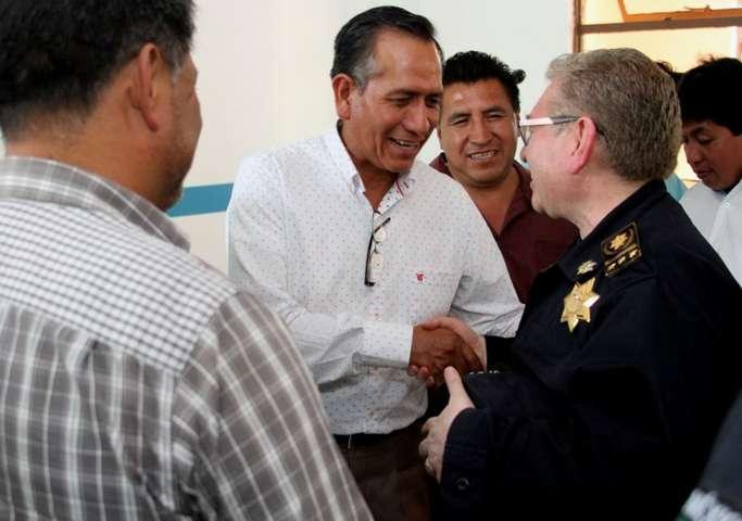 Se reúnen titulares de la CES, SECTE Y presidente municipal de Tepeyanco