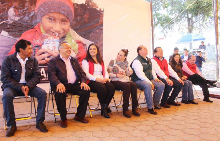 Aperturan Lechería Liconsa en comunidad de Huamantla