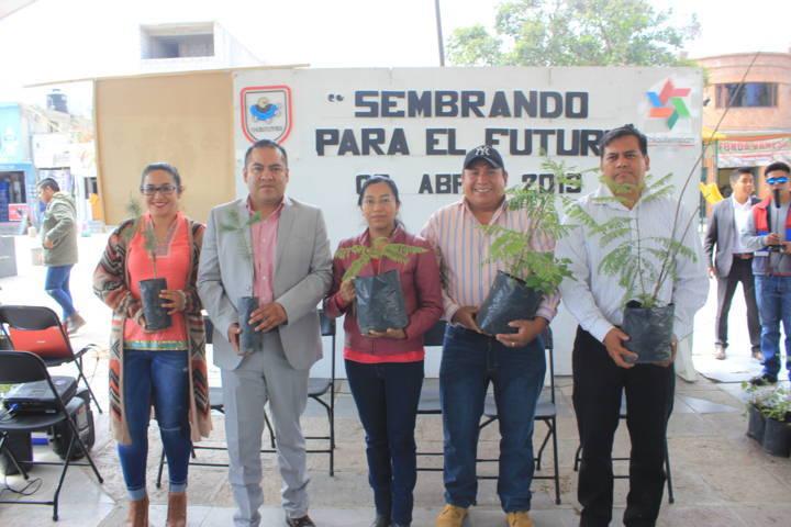 """Chiautempan lanza el Challenge """"Sembrando Para El Futuro"""""""