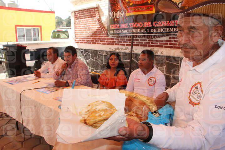 La Feria del Taco de Canasta llega este 30 de noviembre y 1 de diciembre: alcalde