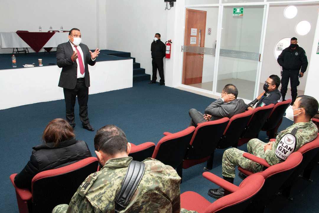 Comienza Procurador visitas de trabajo en mesas de seguridad regionales