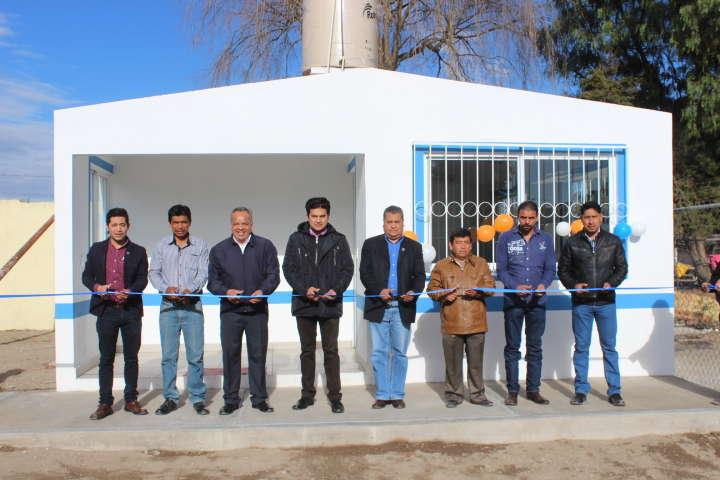 Ayuntamiento de Huamantla rehabilita dispensario médico en comunidad rural