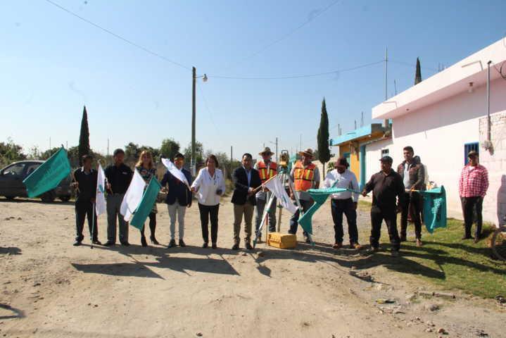 Pérez Rojas pone en marcha 3 obras en la calle Xicohténcatl por 1.3 mdp