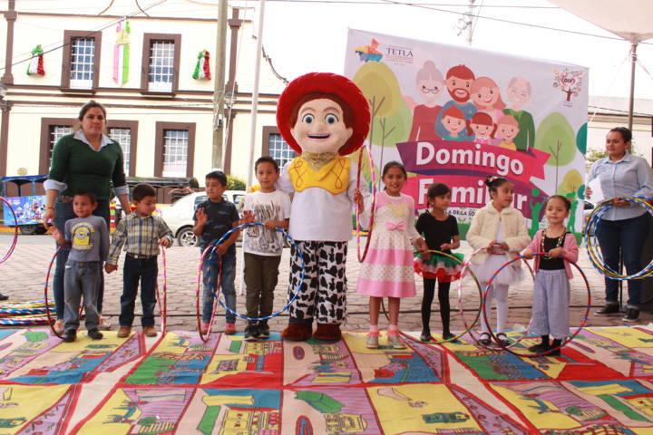 Domingos Familiares en Tetla fomentan el respeto y la integracion familiar