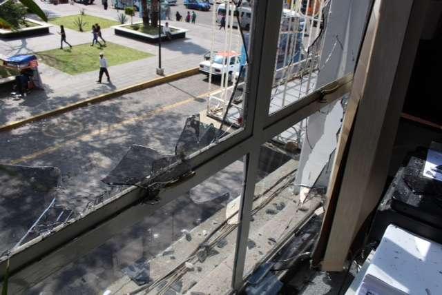 Presenta ayuntamiento de Zacatelco denuncia contra actos vandálicos