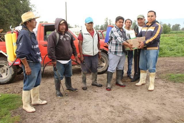 En Lardizábal continúa el apoyo al campo