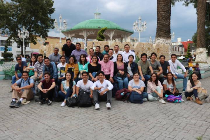 Urbanistas de la UNAM vistan Chiautempan para realizar proyecto arquitectónico y de movilidad