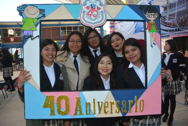 """Celebra la Normal """"Francisca Madera Martínez"""" 40 aniversario de su creación"""