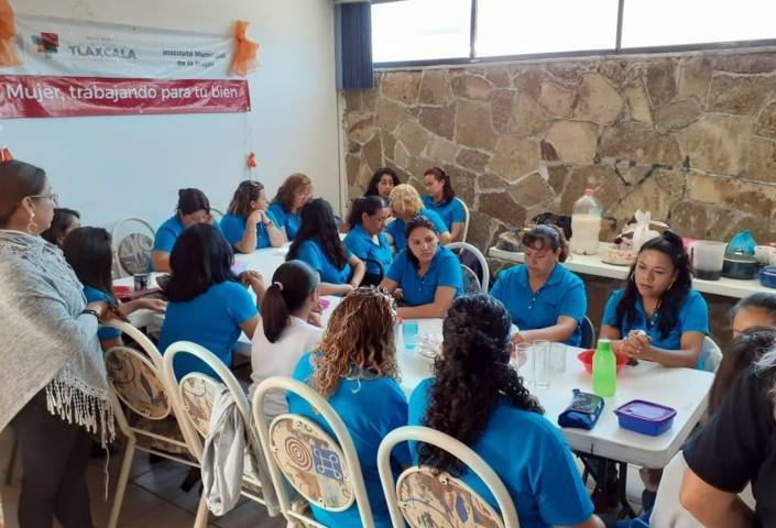 Clausuran Segundo Módulo del Taller de Estilismo en IMM de Tlaxcala