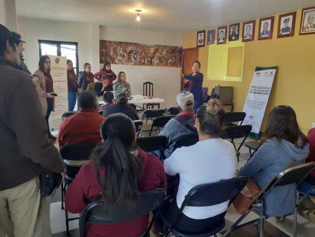 Difunde IMM de Tlaxcala servicios de calidad en Tepehitec