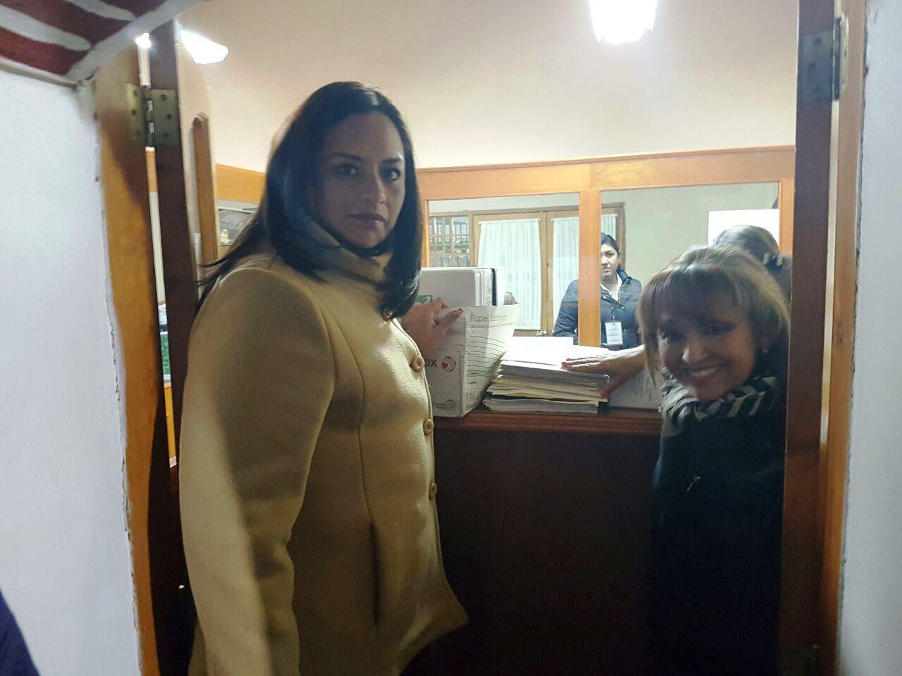 Lorena Cuéllar presenta impugnación ante ITE