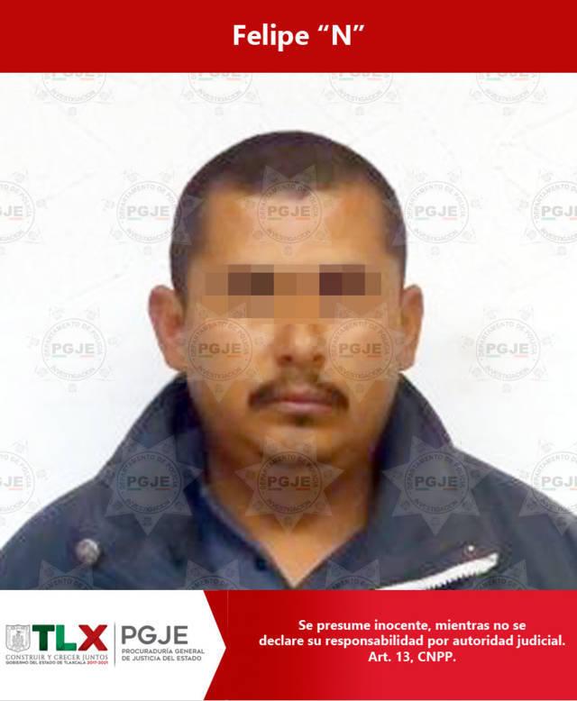 Captura PGJE a imputado con orden de aprehensión en Puebla