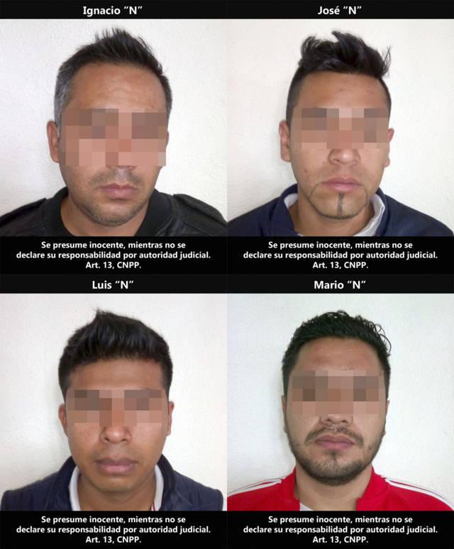 Detienen a falsos policías ministeriales del Estado de México, venían armados