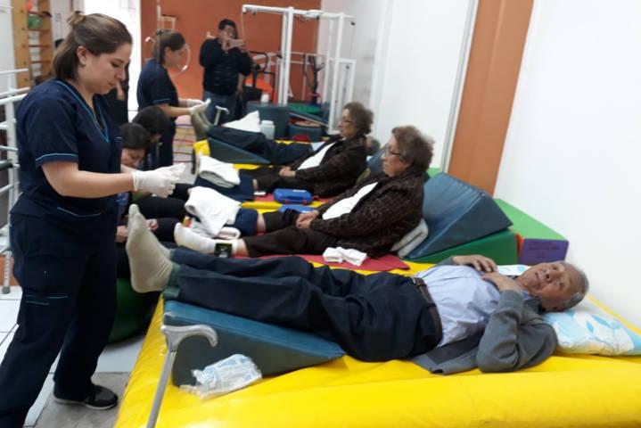 Brinda IMTPD terapias integrales de rehabilitación