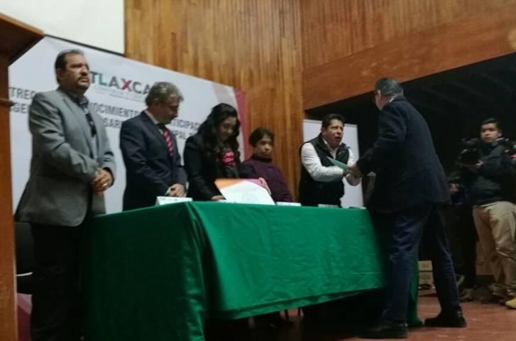 Recibe ayuntamiento de Tlaxcala reconocimiento del INAFED