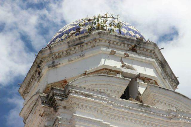 Reparación de templos de Tlaxcala  daños por sismos será parcial