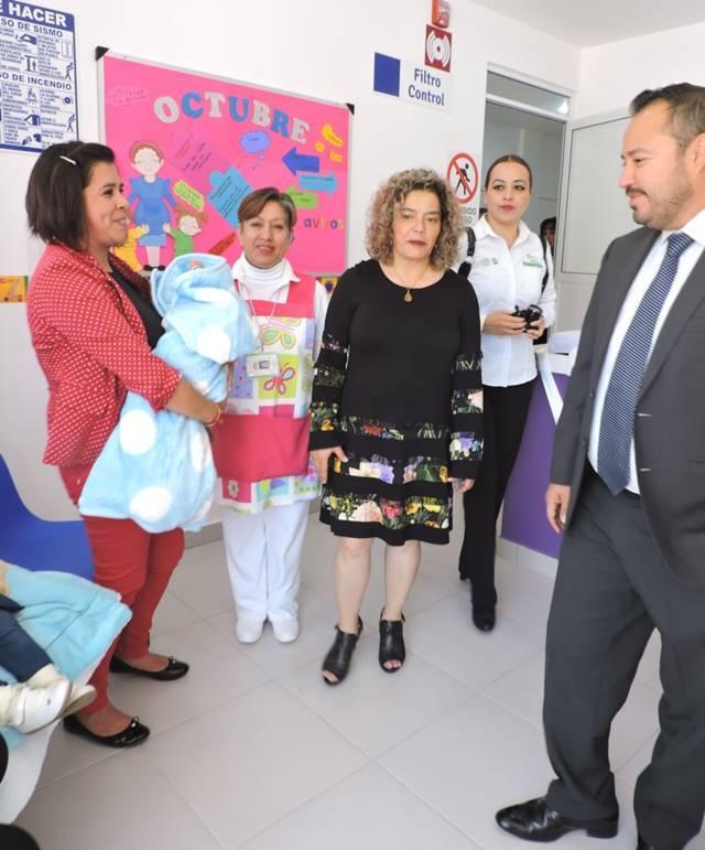 La delegación IMSS tlaxcala amplía el servicio de guardería