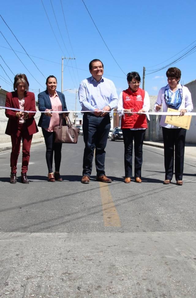Alcalde mejora la imagen urbana de 5 calles con una inversión de 5 mdp