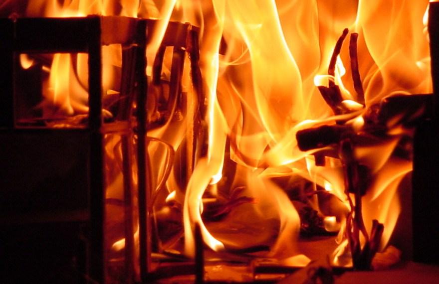Se registra incendio en Yauhquemehcan, hay vehículos en las inmediaciones