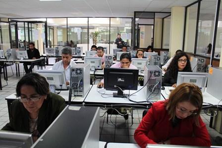 Aspirantes a consejeros electorales de Tlaxcala realizan examen