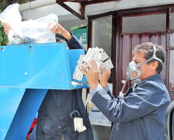 Destruye el INE en Tlaxcala 13 mil credenciales para votar