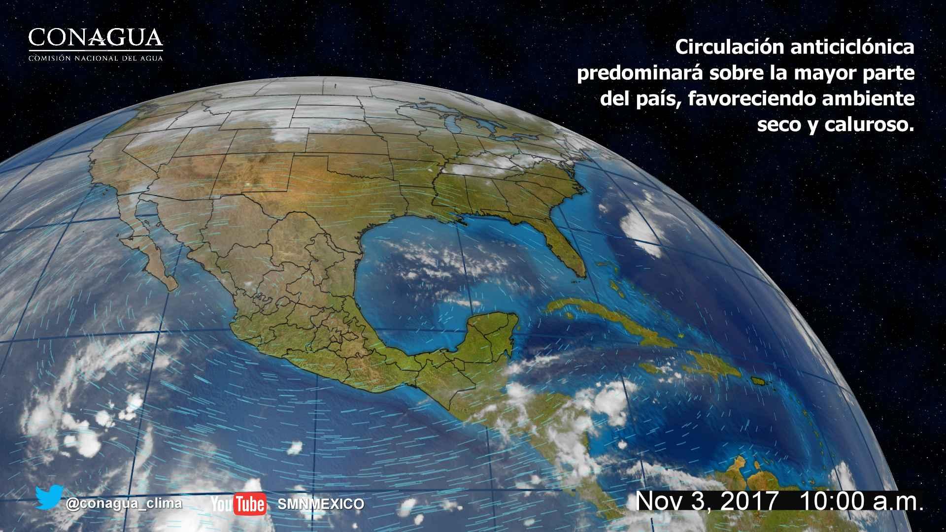 Se prevé ambiente cálido durante el día para Tlaxcala