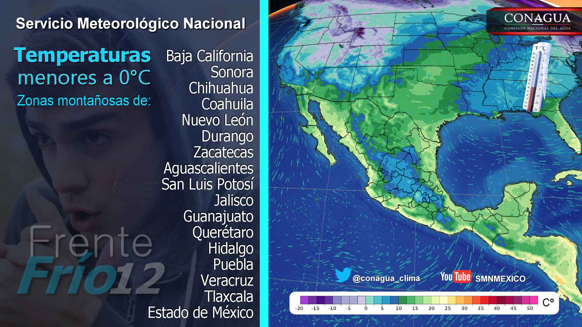 Persistirá el ambiente muy frío, con heladas por las mañanas para Tlaxcala