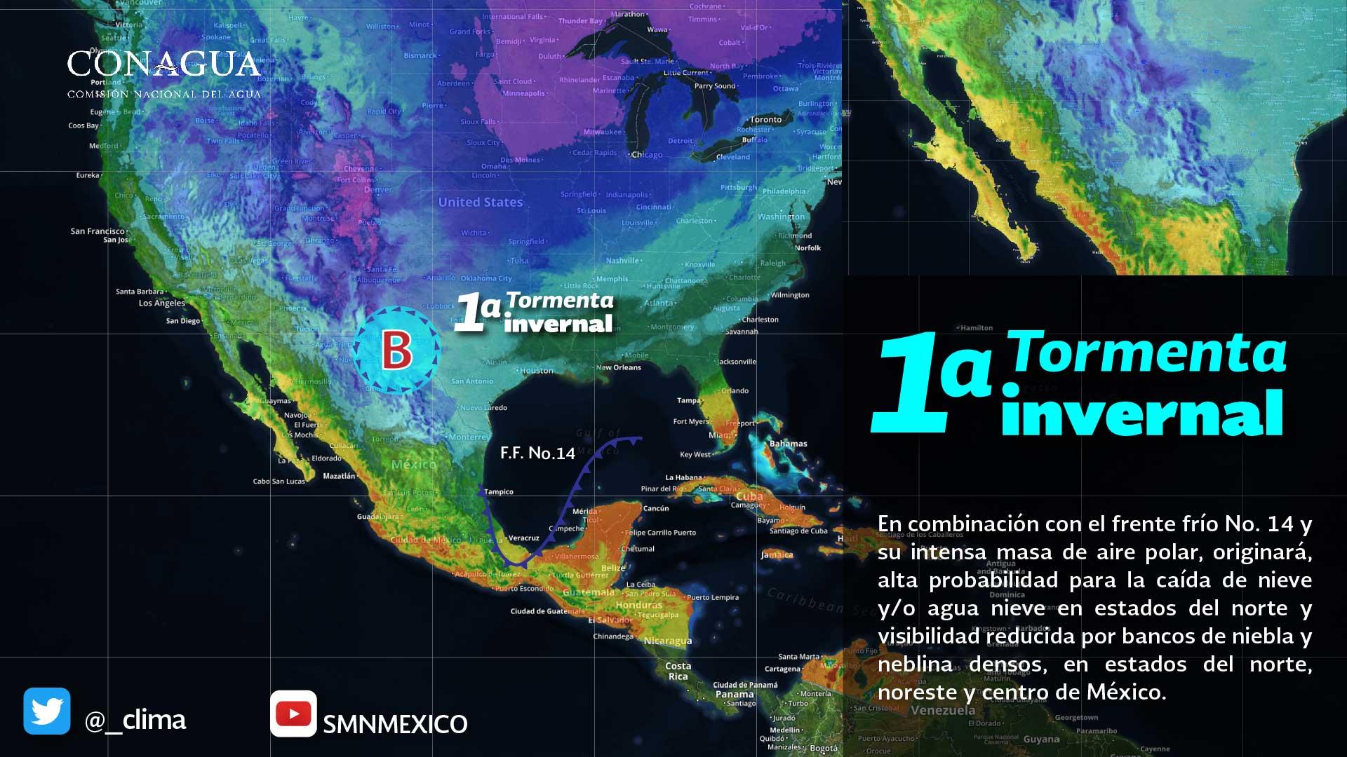 Se estiman temperaturas menores a -5.0 grados Celsius para zonas altas de Tlaxcala