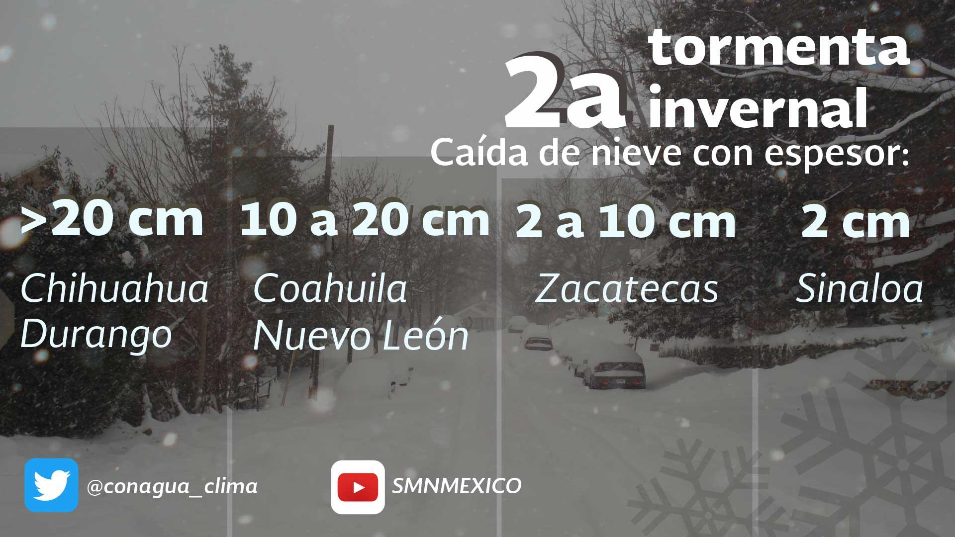 Temperaturas mínimas de 0 a -5.0 grados Celsius, se prevén para Tlaxcala