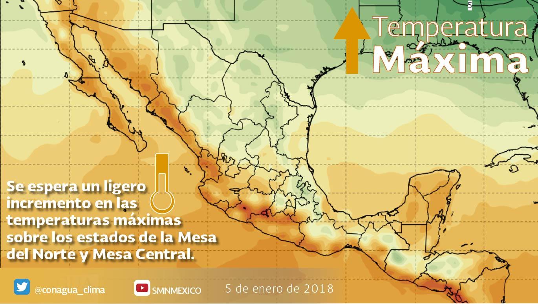 Se mantendrán las temperaturas frías en la mañana y la noche de hoy