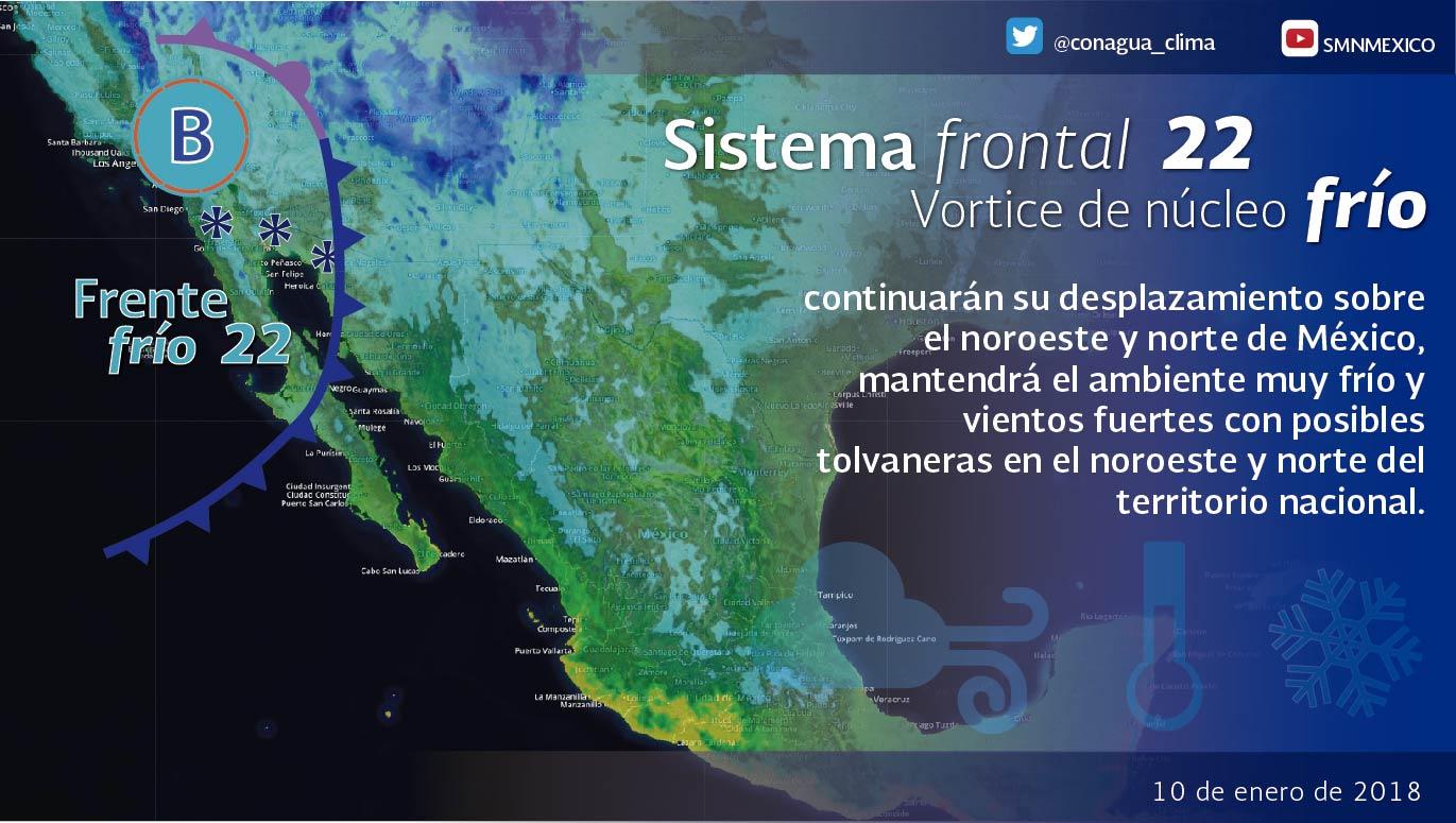 Se pronostican temperaturas mínimas de 0 a -5 grados para las regiones elevadas de Tlaxcala