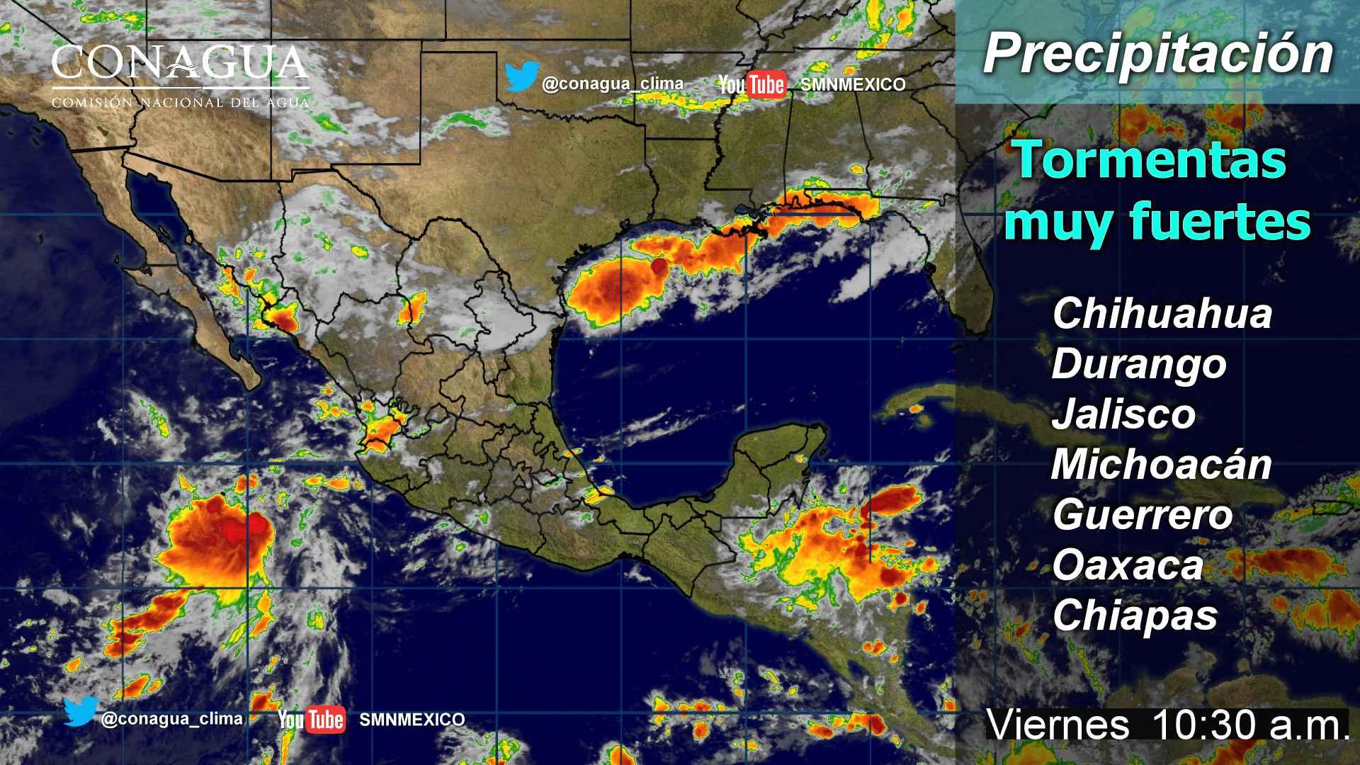 Continuará el ambiente muy caluroso en Michoacán, en Morelia se estiman tormentas